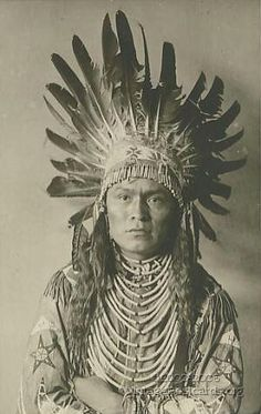 Old Indian photo postcard.