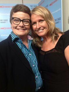 Kris Perry and Sandy Stier / Their lawsuit challenged Prop 8 and got the law overturned, making marriage equality legal in California once again. So grateful for their courage!