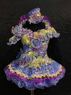 Ultra Glitz National Level Toddler Beauty Pageant Cupcake Dress By You Go Girl Pageant Wear Toddler Pageant Dresses, Baby Pageant, Glitz Pageant Dresses, Pagent Dresses, Little Girl Pageant Dresses, Pageant Wear, Girls Dresses, Flower Girl Dresses, Toddler Outfits