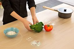 IKEA Digital Concept Table Offers Recipe Ideas for Leftovers