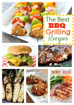 The best summer grilling recipes!  You will use these over and over this summer! www.skiptomylou.org