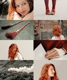 """"""" Rose inherited her father's unfortunate hair. """" Jenna Thiam as Rose Weasley Rose Granger Weasley, Ginny Weasley, Scorpius And Rose, Scorpius Malfoy, Harry And Ginny, Ron And Hermione, Harry Potter Girl, Harry Potter Characters, Harry Potter Next Generation"""