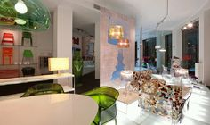 Selva Interior - Kartell Showroom, Vanity, Mirror, Projects, Inspiration, Furniture, Home Decor, Dressing Tables, Log Projects