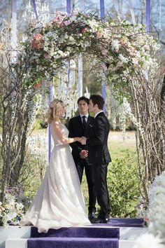 "The Vampire Diaries Season 8, Episode 15: ""We're Planning a June Wedding"" #Steroline"