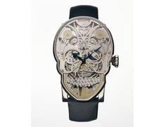 Fiona Krüger Skull wristwatch