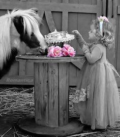 Girl & her Pony