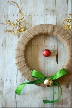 Rudolph Wreath!  The