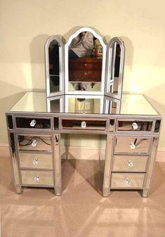 Mirrored Chest Sideboard Buffet Server Art Deco Drawers   Mirrored Chest  Drawers   Pinterest   Buffet Server, Sideboard Buffet And Drawers
