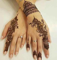 75 ideas for the design of henna hand tattoo art 16 Henna Hand Designs, Eid Mehndi Designs, Mehndi Designs Finger, Stylish Mehndi Designs, Wedding Mehndi Designs, Mehndi Designs For Fingers, Beautiful Henna Designs, Latest Mehndi Designs, Henna Tattoo Designs
