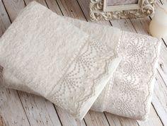 Luksusowy ręcznik Stella Ecru 50x90 cm