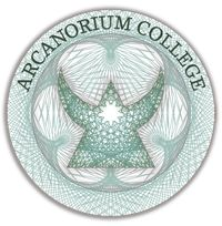 "Arcanorium College is an on-line educational resource for the ""Magical Arts,"" including sorcery, divination, the history and culture of Magic, and alternative physics.  The college also features an extensive library of archives and links; common room areas for news, debates, and socialization; and workshop facilities with online magical tools which remain open between semesters."