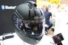 HJC Smarton Helmet with Blackbox Front and Rear Cameras