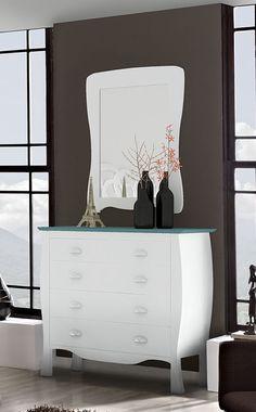 Kommode i tre DANUBIO. www.dekorasjondesign.com , din komplette nettbutikk av design møbler og kommoder i tre. (bilde 1)