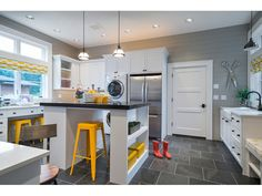 """Laundry/hobby room in Architectural Designs """"Northwest home with hobby room and wine cellar."""" room Plan Northwest Home with Hobby Room and Wine Cellar Laundry Craft Rooms, Laundry Room Storage, Laundry Room Design, Garage Laundry, Laundry Shelves, Laundry Decor, Basement Laundry, Storage Room, Bag Storage"""
