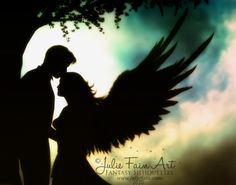 Divinity-angel,love,guardian,romance,love,couple,man,human,