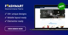 Design 4 Ready in FlashMart – Multipurpose Elementor WooCommerce WordPress Theme Homepage Design, All Themes, Online Shopping Websites, Wordpress Theme