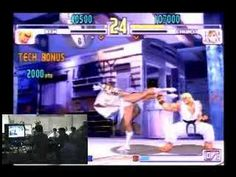 Daigo's Comeback. One of my favorite tournament crowd reaction moments to watch in gaming history [Streetfighter III]