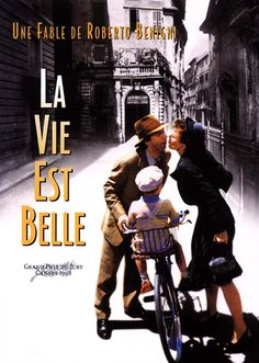 La Vie est belle Life is Beautiful is a film by Roberto Benigni with Roberto Benigni, Horst Buchholz. Synopsis: In Guido, a cheerful young man, dreams of opening a bookstore, despite the harshness of the fascist administration. Top Movies, Great Movies, Movies And Tv Shows, Beau Film, Beautiful Film, Life Is Beautiful, Love Movie, Movie Tv, Cinema Paradisio