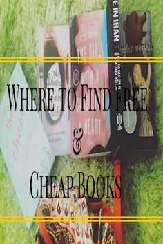 Where to Find Free and Cheap Books. Click Here to Find Out How: https://www.youtube.com/watch?v=NUTjQ-S8aXc&feature=youtu.be