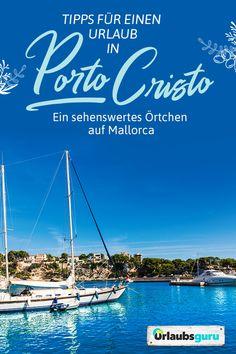 Porto Cristo ist ein kleiner Hafenort an Mallorcas Ostküste. Kristallklares Wasser, historische Gebäude und der angrenzende Yachthafen verwandeln den Ort in ein charmantes Urlaubsziel. In meinem Artikel findet ihr alle Tipps und Infos für euren Urlaub. Viel Spaß!  #mallorca #portocristo #spain #spanien #balearen #port #summer #insel #reisetipps #travelguide #traveltips Malaga, Beach, Hotels, Outdoor, Inspiration, Christ, Porto, Holiday Destinations, Destinations