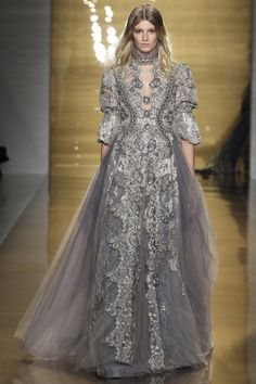 See the autumn/winter 2015 Reem Acra collection...I can wear this to work right?