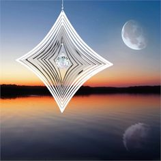Woodstock Shimmers - Crystal Parallax from Woodstock Chimes ($10.95). Magical light play.