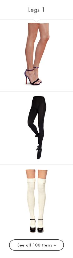 """Legs 1"" by littleflower-1 ❤ liked on Polyvore featuring doll parts, doll legs, dolls, legs, body parts, intimates, hosiery, tights, pants and leggings"