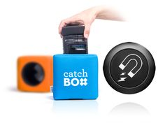 Catchbox 2.4 | A throwable mic for presentations. Interacting with the audience becomes fun. … the catch: with $599 it's a bit overpriced.