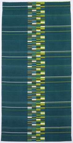 "Lucienne Day, ""Causeway"", 1967. Screen printed cotton. Courtesy Cooper-Hewitt"