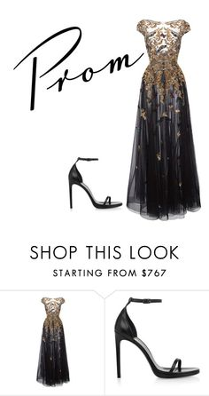 """Prom"" by liekejongman on Polyvore featuring Zuhair Murad and Yves Saint Laurent"