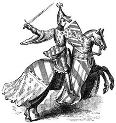 knight- a European noble who served as a mounted warrior Knights Middle Ages, Pale Horse, Renaissance Era, Knight Armor, Medieval Knight, Chivalry, Hobbies And Crafts, Online Art, Art Images