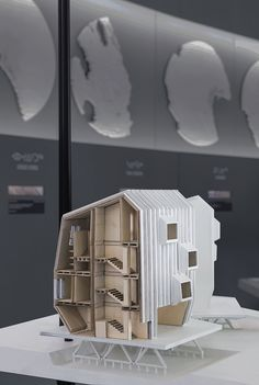 ARCTIC ADAPTATIONS 2014 - LATERAL OFFICE, architectural model, maquette, model