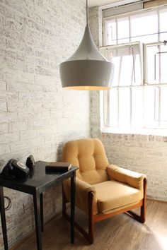 a #retro pendant #light is a unique way to introduce an #urban angle to your #interior.