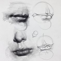 Excellent Drawing Faces With Graphite Pencils Ideas. Enchanting Drawing Faces with Graphite Pencils Ideas. Anatomy Sketches, Anatomy Drawing, Anatomy Art, Art Sketches, Anatomy Study, Realistic Eye Drawing, Human Figure Drawing, Figure Drawing Reference, Pose Reference