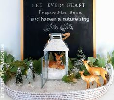 And Heaven and Nature Sing! Christmas Home Tour