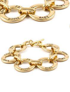 Faith Love & Hope Bracelet <3