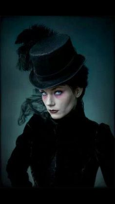 Victorian Gothic with Top Hat