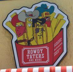 Rowdy Taters.  Pass Christian, LA