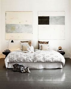 Modern & Ethnic Bedroom.Naja Munthe's Home. #architect #architetto…