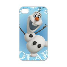Amazon.com: Custom Disney 3D Movie Frozen Olaf Hard Case for iPhone 4,4S 100% TPU (Laser Technology): Cell Phones & Accessories