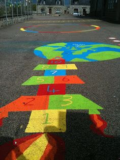 Original Playground Markings — Creative STAR Learning | I'm a teacher, get me OUTSIDE here!
