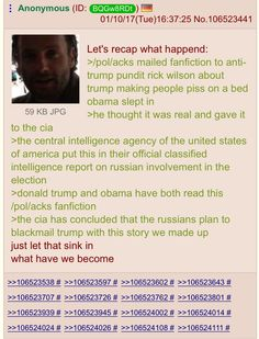 Fake news: 4Chan Claims To Have Fabricated Anti-Trump Report As A Hoax | Zero Hedge