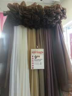 A Different Way To Hang A Window Scard! Window Drapery, Curtains, Window  Scarf