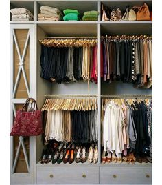 now this is how you closet