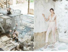 Extravagant Destination Wedding at Mykonos ✰ Hochzeitsguide - Fine Art Wedding Blog Wedding Vendors, Wedding Blog, Destination Wedding, Wedding Planning, Silk And Willow, Wedding Kiss, Ceremony Arch, Chuppah, Island Weddings