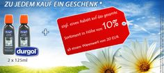 Frühjahrsputz Aktion! Zu jedem Kauf gibt es ein Geschenk: *  Durgol Swiss Espresso Spezial-Entkalker, 2 x 125 ml Zusätzlich gibt es noch einen Rabatt auf das gesamte Sortiment in Höhe von 10%, ab einem Warenwert von 20 EUR. www.about-tea.de