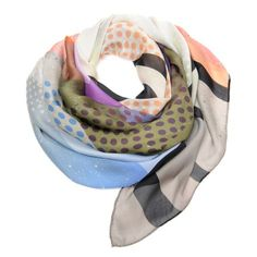 So many great colors! Goes with everything. Scarves are my signature look!