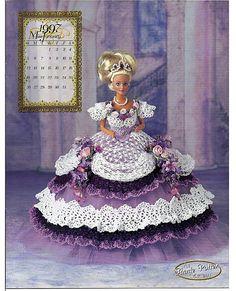 The Royal Ballgowns 1997 Master Crochet by grammysyarngarden, $12.00