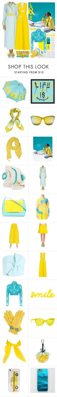 """Mermaid Slippers: Embellished Shoes"" by yours-styling-best-friend ❤ liked on Polyvore featuring Gucci, Hermès, 3.1 Phillip Lim, Boden, Betsey Johnson, Delpozo, WearAll, Gizelle Renee, Italia Independent and Fendi"