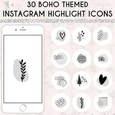 Boho Instagram Highlights   Instagram Highlight Covers   Instagram Story Icons   Icons   Instagram Icons   Minimalist Instagram Templates Instagram Templates, Instagram Highlight Icons, Story Highlights, Instagram Story, I Shop, Blogging, How To Make Money, Aesthetics, Minimalist